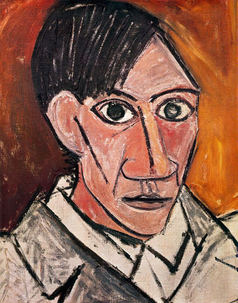 Image result for Pablo Picasso portrait long angular