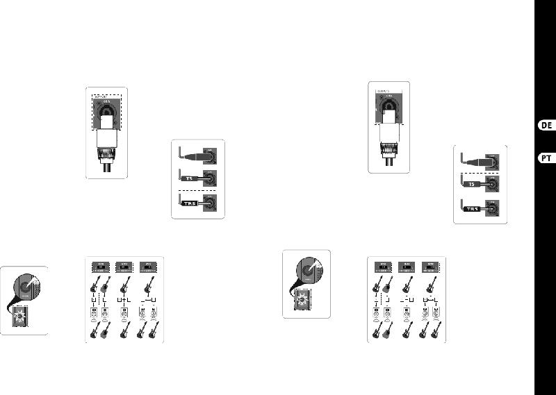 Behringer NX6000D Amplifier Quick start manual PDF View