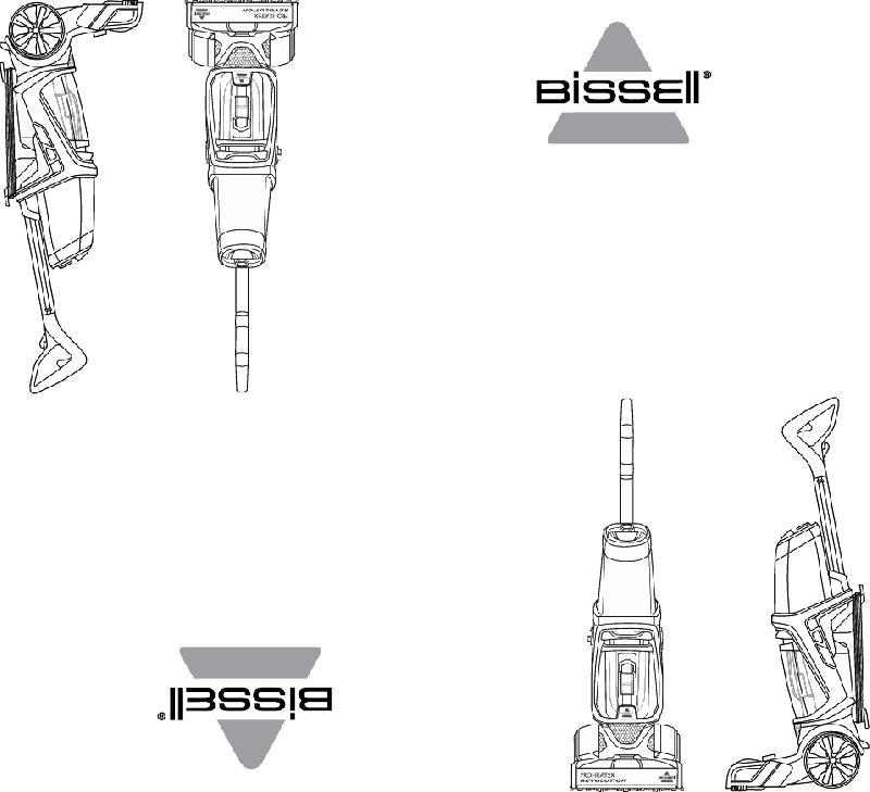 Bissell PROHEAT 2X REVOLUTION 1548 Series Vacuum Cleaner