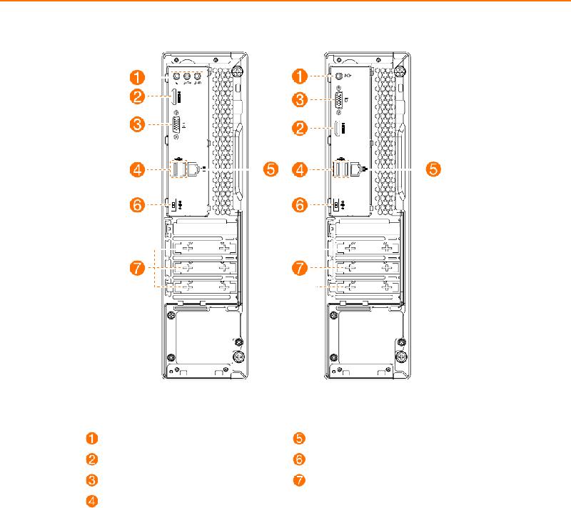 Lenovo IdeaCentre 310S-08IGM Desktop Operation & user's