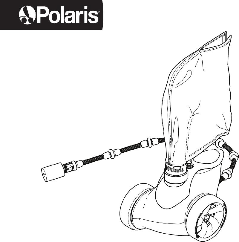Polaris 3900 Sport/P39 Swimming Pool Vacuum Owner's manual