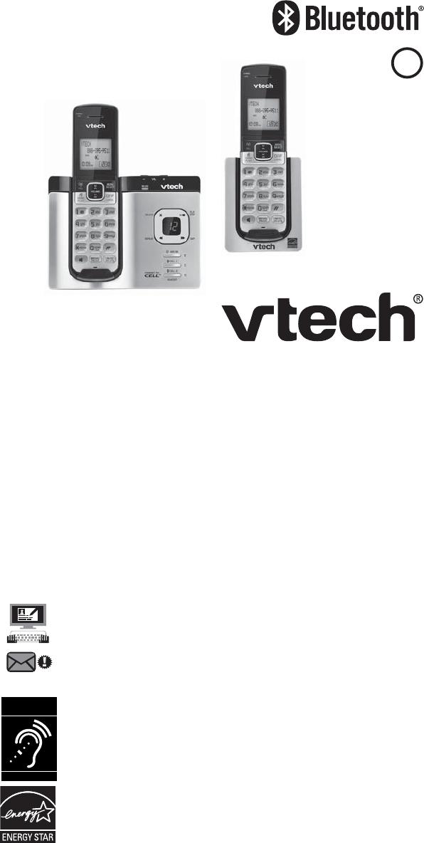 VTech DS6621 IP Phone Abridged user manual PDF View/Download