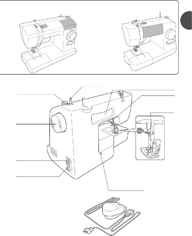 Toyota sp100 series Sewing Machine Instruction manual PDF