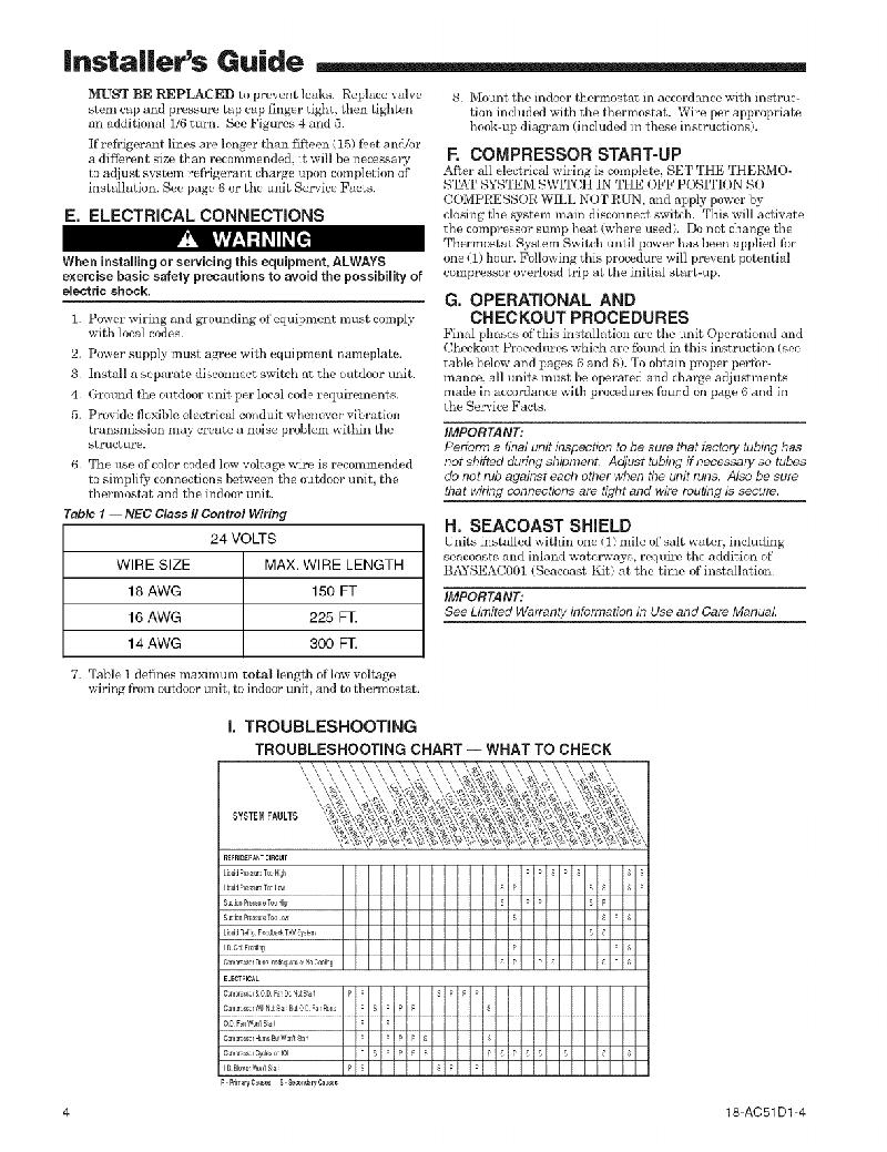 Trane 4TTR4 Heat Pump Installer's manual PDF View/Download