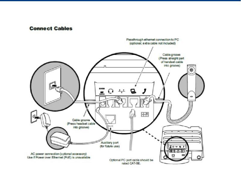 Polycom VVX 411 Telephone Quick start manual PDF View