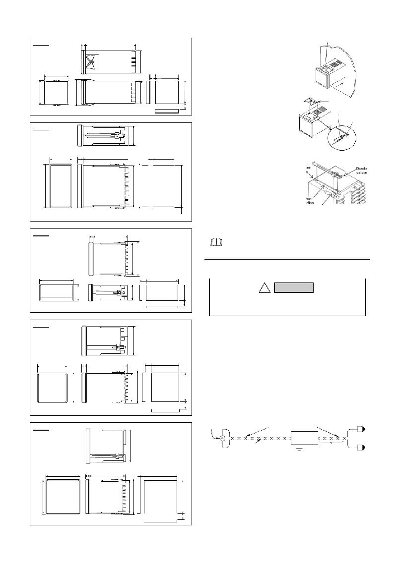 RKC INSTRUMENT REX-C100 Controller Instruction manual PDF
