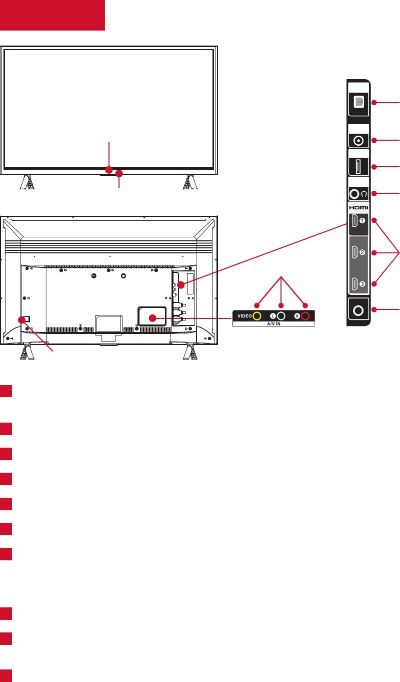 TCL D100 LED TV Operation & user's manual PDF View
