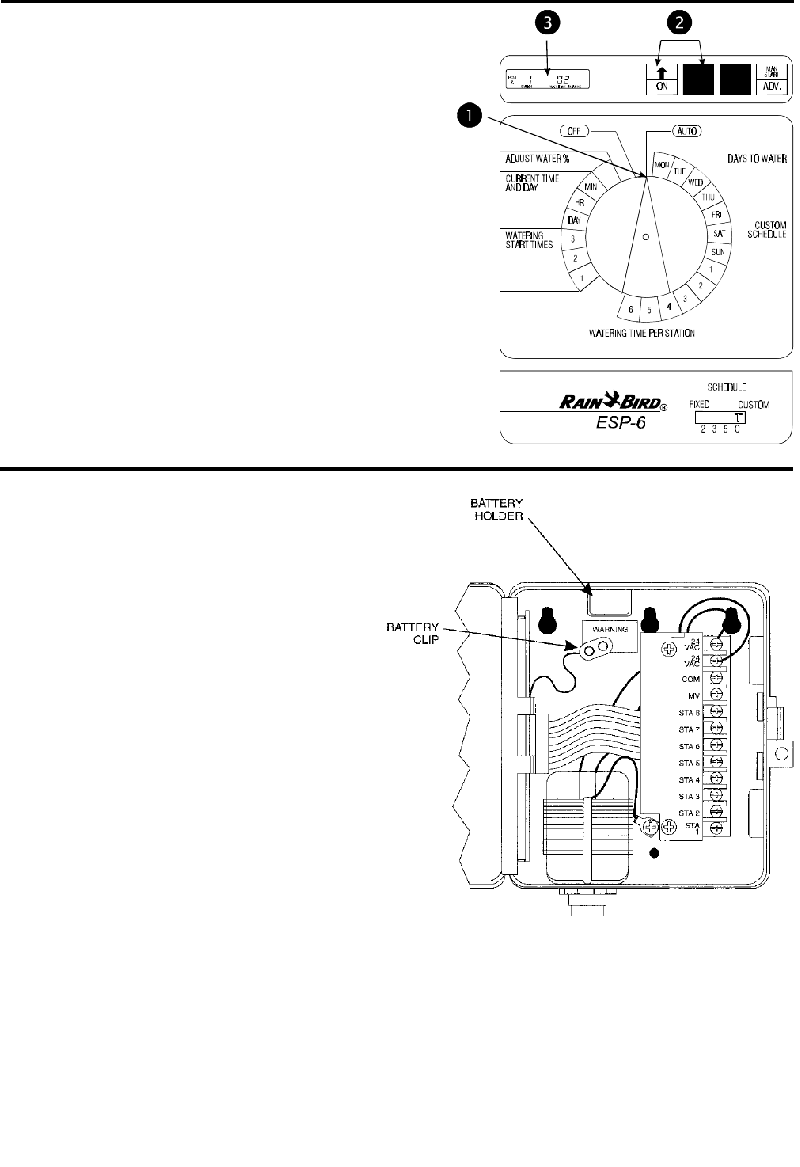 Rain Bird ESP-4 Controller Installation, programming