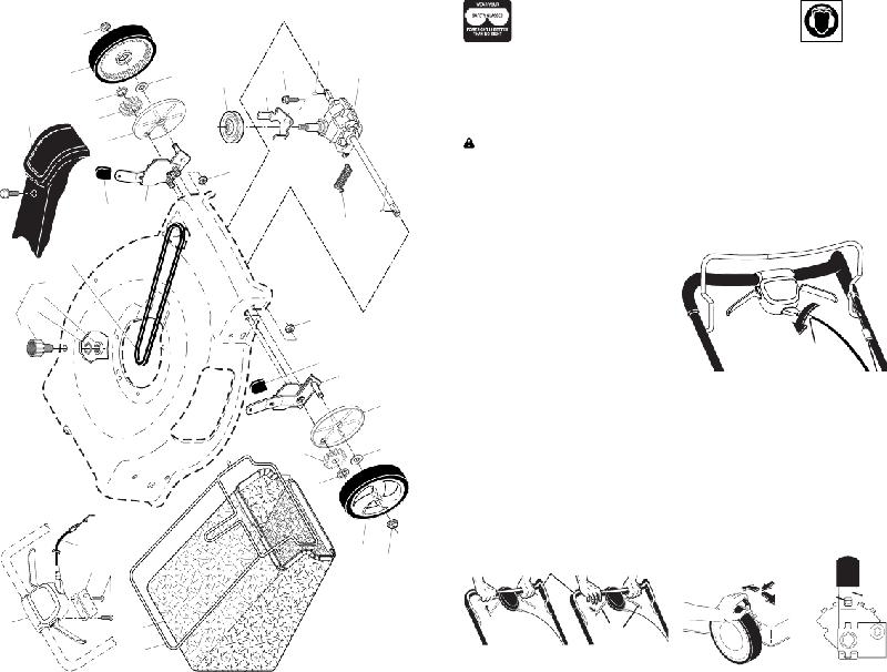 Craftsman 944.101780 Lawn Mower Owner's manual PDF View