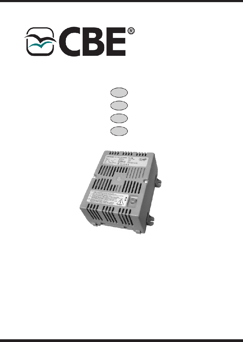 CBE CB 510 Battery Charger Instruction manual PDF View