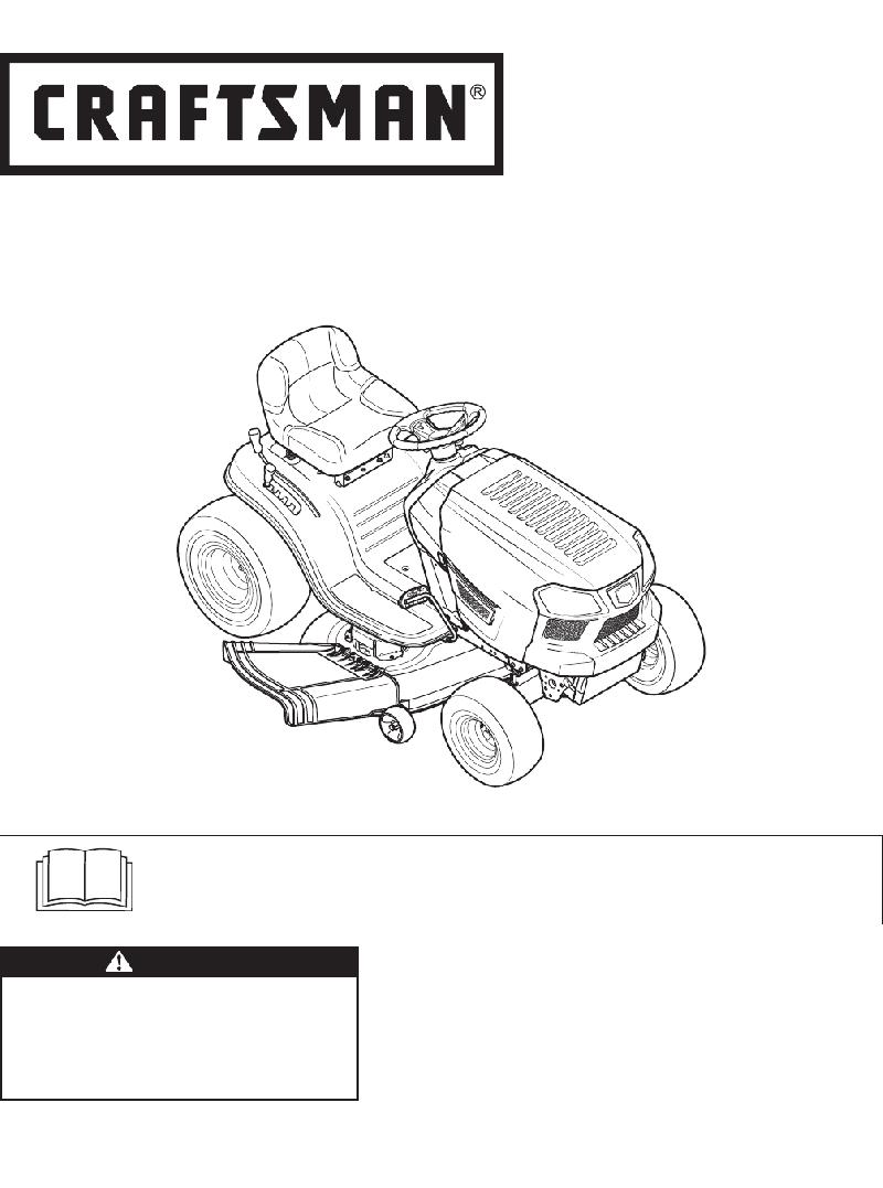 Craftsman 247.203724 Lawn Mower Operator's manual PDF View