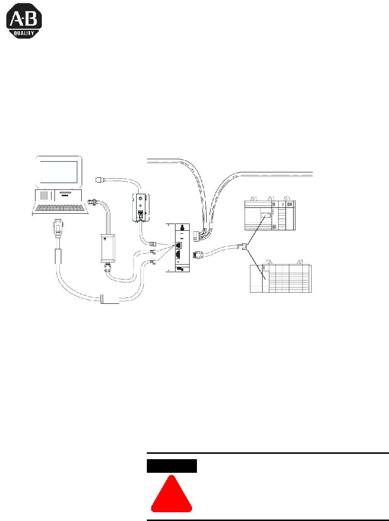 Allen-Bradley 1747-AIC Controller Installation