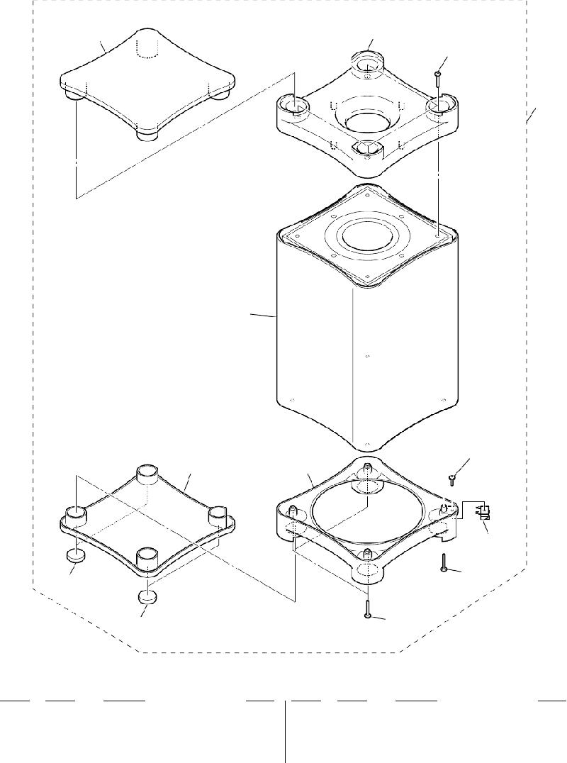 Sony SS-C990 Speaker System Service manual PDF View