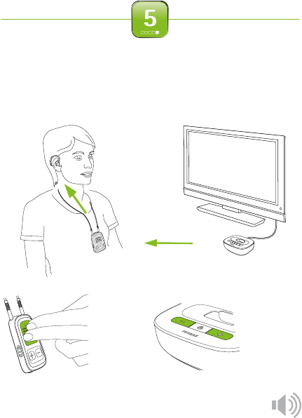 Phonak TVLink II Hearing Aid Quick setup manual PDF View