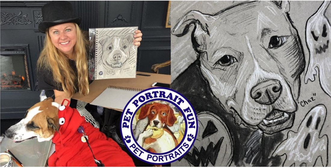 While we receive compensation when you click links to pa. Halloween Dog Party with Pet Portrait Fun Live Sketching Tickets, East River Park Amphitheater ...