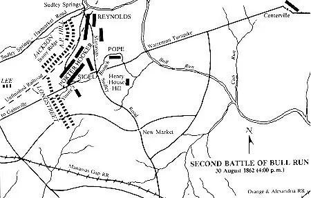 Bullrun Manassas Second Virginia Civil War Battle