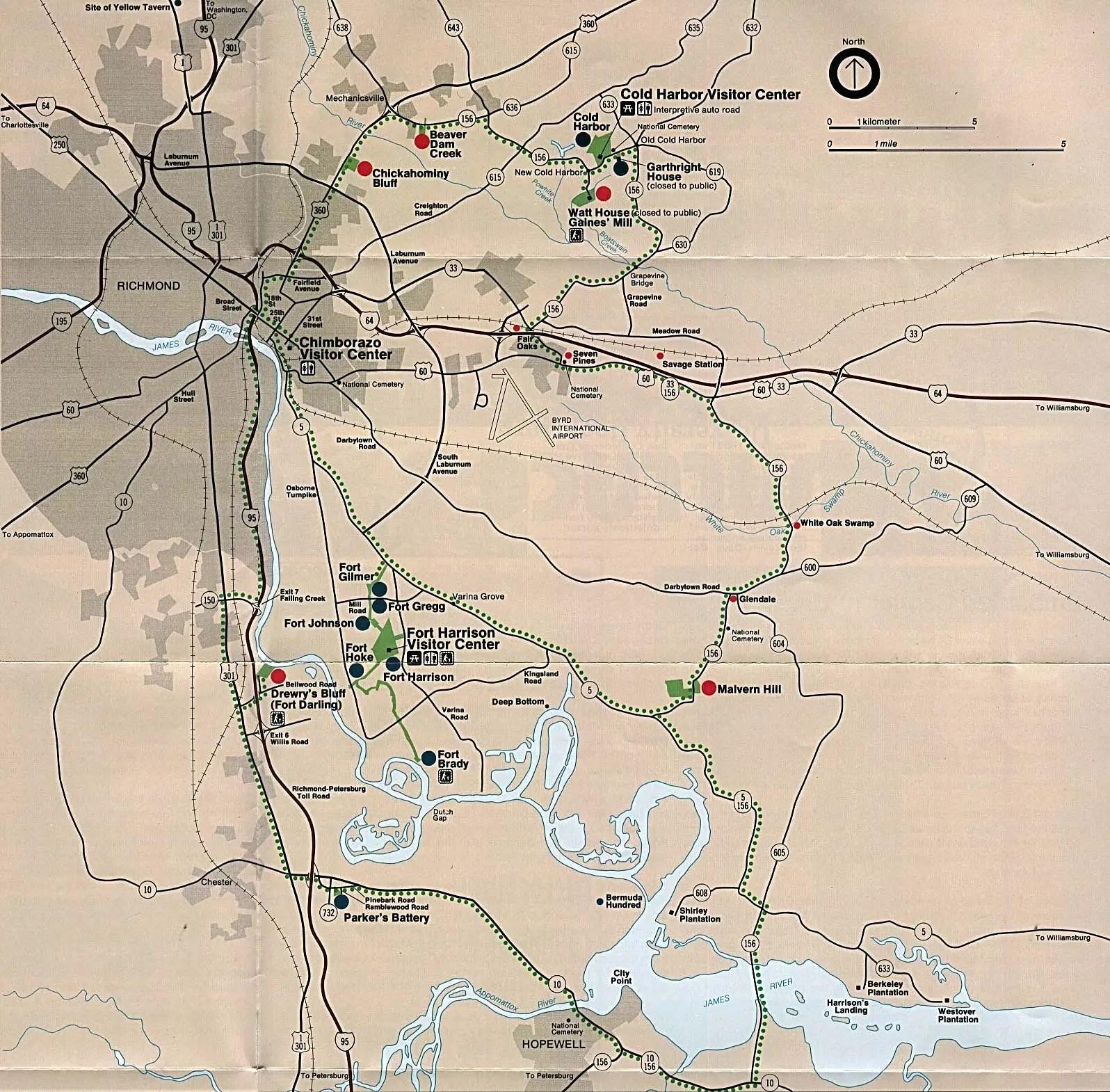 Cold Harbor Virginia American Civil War Battle Richmond