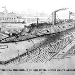 Monitor Versus Merrimack Diagram 2003 Honda Crv Power Window Wiring Confederate Navy Ship The Ironclad Css Virginia