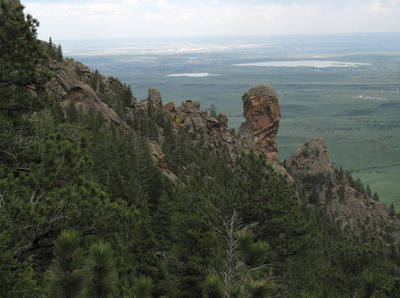 ~8 miles (round trip) · difficulty: Rock Climbing In Devil S Thumb Flatirons