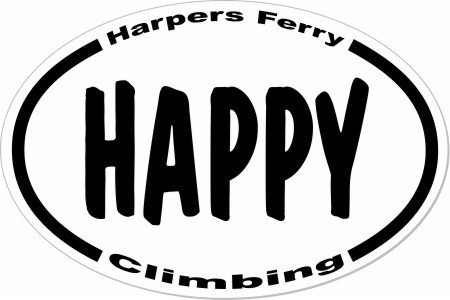 Don't climb mad, or sad, or even serious, at Harpers Ferry