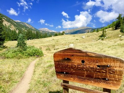 The 1st 1.5 miles or so is not so bad, it starts as a wonderfully pleasant hike through towering pine and aspen forest. Devil S Thumb Bypass Hiking Trail Nederland Colorado