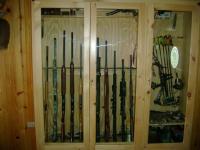 ARMSLIST - Beautiful Custom Made Gun / Pistol / Bow Cabinet