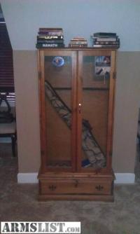 ARMSLIST - For Sale: Homemade Gun Cabinet