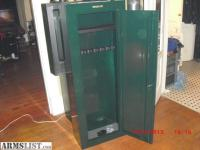 ARMSLIST - For Sale: steel security stack on 8 gun cabinet.