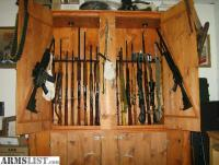 ARMSLIST - For Trade: large gun cabinet