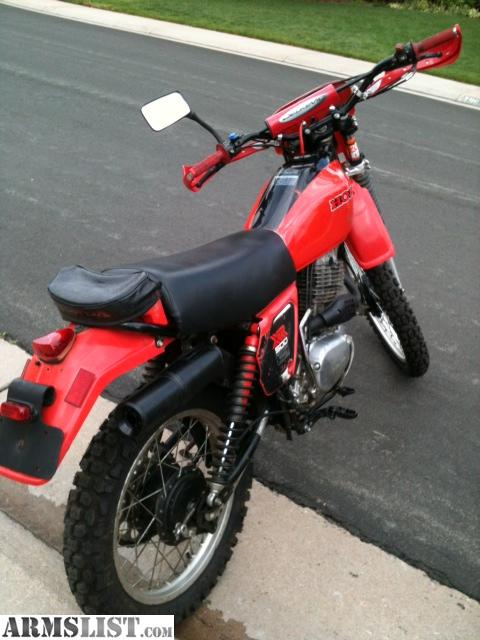ARMSLIST  For Sale Honda XR500 Dirt Bike