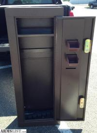 ARMSLIST - For Sale: 8 Gun HOMAK Security Cabinet