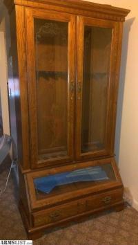 ARMSLIST - For Sale: Antique Gun Cabinet