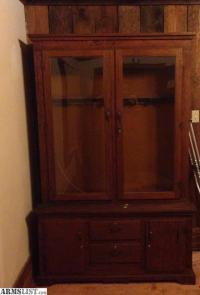 ARMSLIST - For Sale: Antique12 gun wooden cabinet Images ...