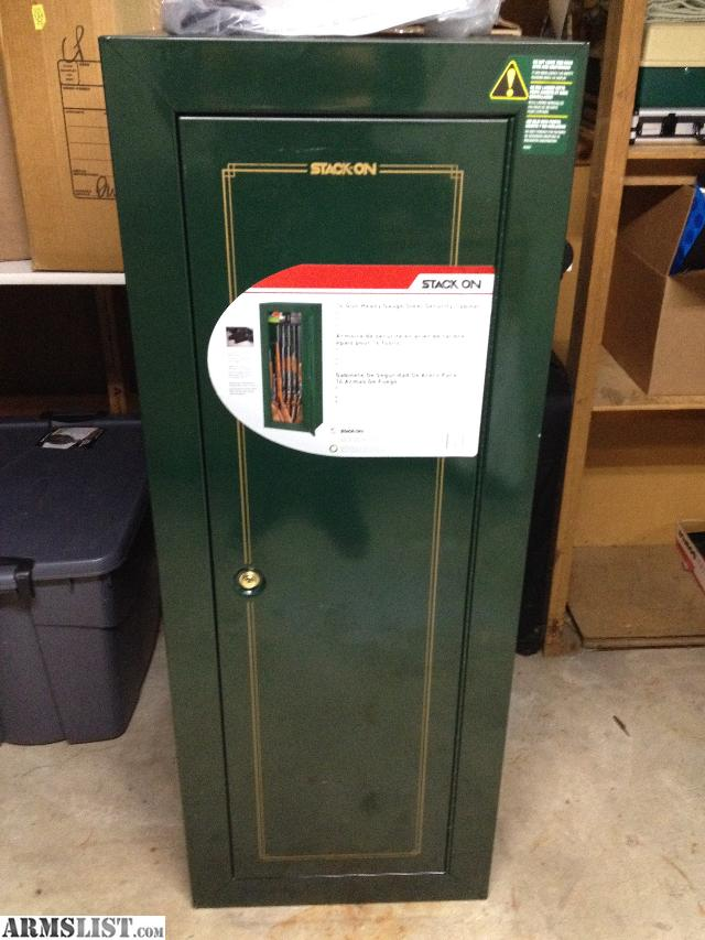 ARMSLIST  For Sale Stackon 14 Gun Cabinet