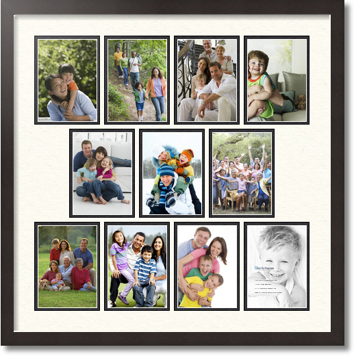 Family Frames Sayings Collage