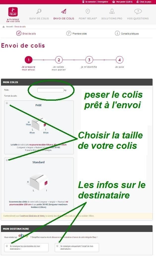 Prix Envoi Colis Mondial Relay : envoi, colis, mondial, relay, Format, Colis, Vinted, William, Bucher