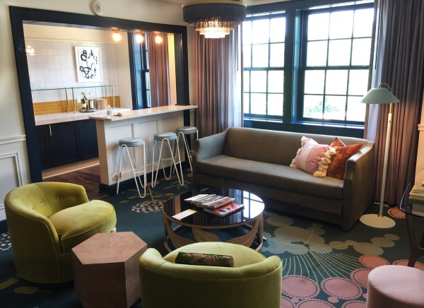 Peek Renovated Hotel Clermont' Hip Rooms And