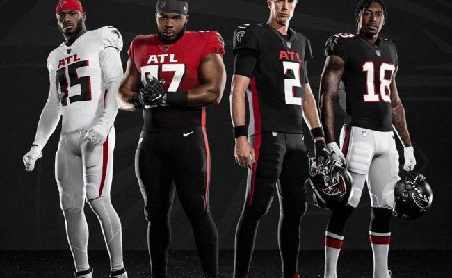 Back In Black A Brief Look At Atlanta Falcons Uniforms