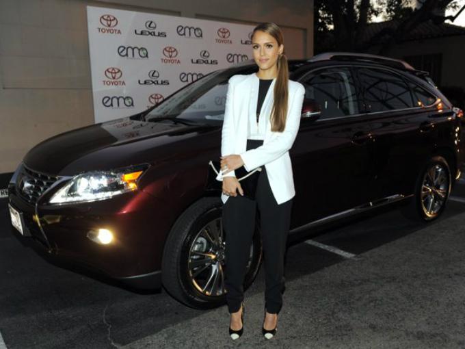 Los autos de Jessica Alba Car  Atraccion360