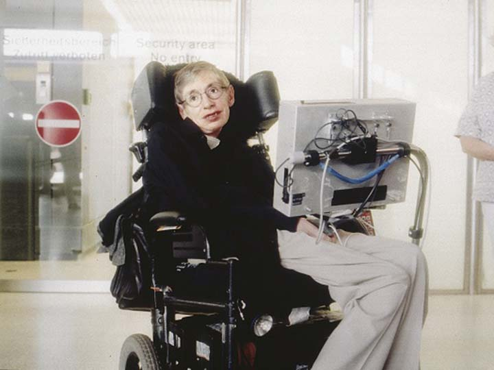 Stephen Hawking silla de ruedas  Atraccion360