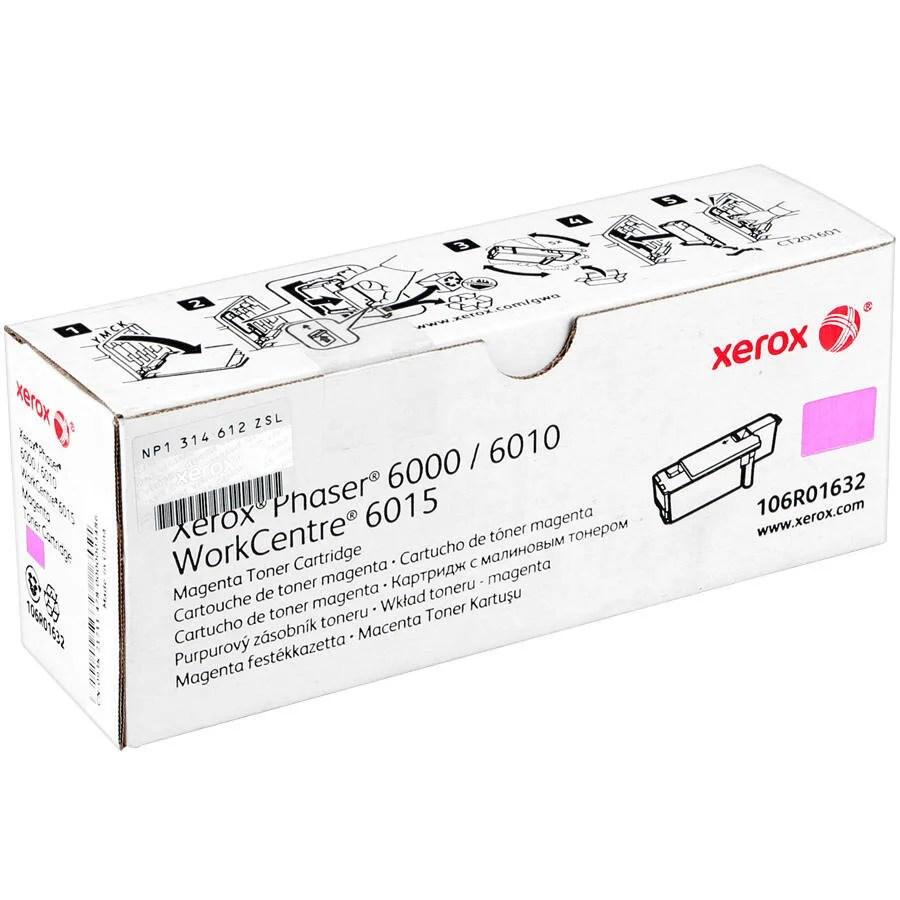 Xerox 106R01632 Phaser 6000/6010/WC6015 Kırmızı Toner 1000