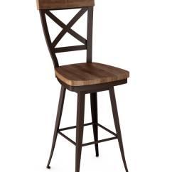 Swivel Chair For Vanity Cover Hire Rotorua Amisco's Kyle Stool (wood Seat) #41414