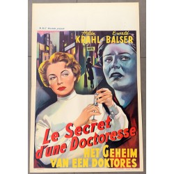 geheimnis einer arztin belgian movie poster store