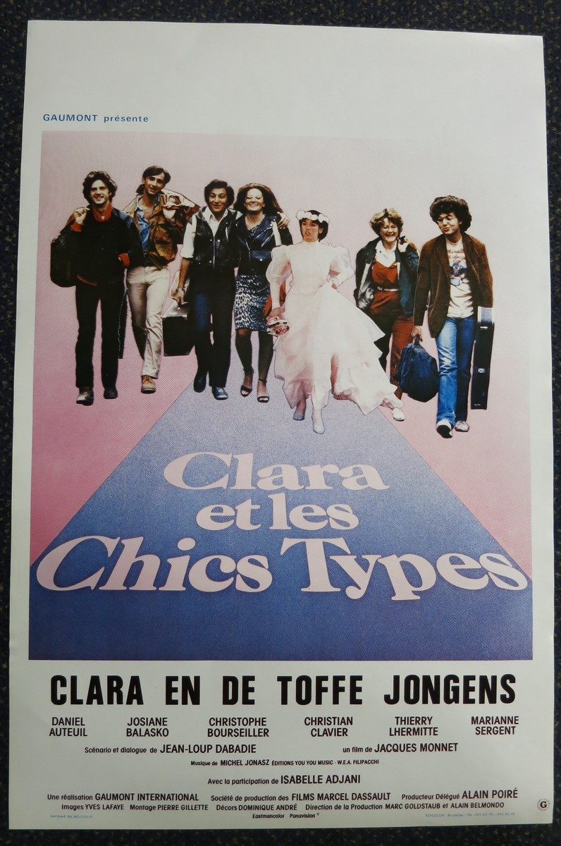 Clara Et Les Chics Types : clara, chics, types, CLARA, CHICS, TYPES, Belgian, Movie, Poster, Store
