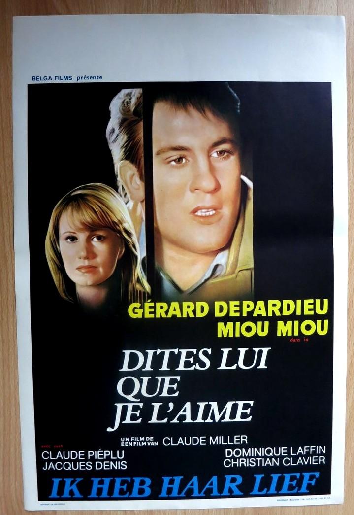 Dites Lui Que Je L Aime : dites, DITES, L'AIME, Belgian, Movie, Poster, Store
