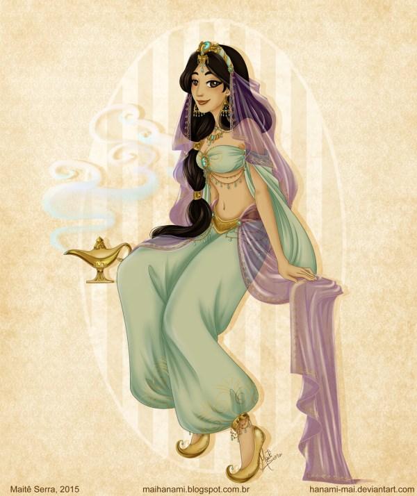 Princesas Da Disney Em Roupas Medievais - Belle Diva