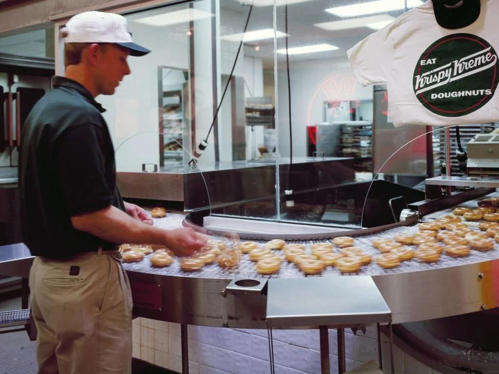 krispy kreme doughnuts inc