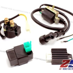 Jincheng Monkey Bike Wiring Diagram Waterway Executive Spa Pump Aftermarket Honda Z50 Ignition Electrical Kit Cdi