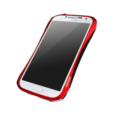 Aluminum bumper for samsung galaxy s4 flare red dracodesign inc