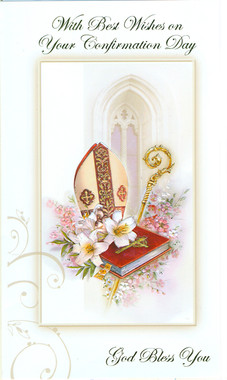 Sisters Of Carmel Best Wishes Confirmation Greeting Card